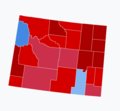 2018 Senate election results in Wyoming.png