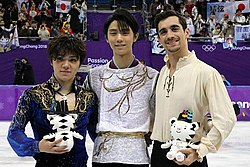 2018 Winter Olympic Games Men Podium.jpg