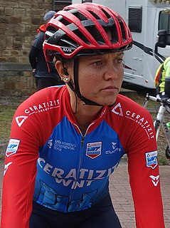 Erica Magnaldi Italian racing cyclist