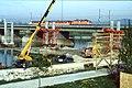 207R11270492 Bereich Nordbahnbrücke, Bau der Trasse für die U Bahn Linie U6, Nordbahnbrücke Ostseite,.jpg