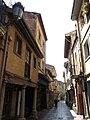 227 Calle de Bances Candamo (Sabugo, Avilés), des de la Plaza del Carbayo.jpg