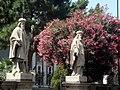 2893 - Catania - Cattedrale - G. Nicoli - Statue nella ''Floretta'' (giardino) - Foto Giovanni Dall'Orto, 4-July-2008.jpg