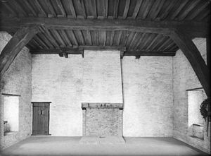 Loevestein faction - The room in Loevestein Castle where, according to tradition, Hugo Grotius was held captive.