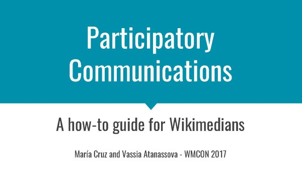 30- Collaborative + Participatory Communications- A how-to guide