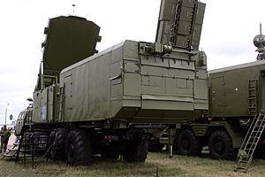 30N6E2 radar MAKS 2009 -03.jpg