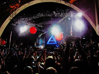 Thirty Seconds to Mars - Performing in Orlando, Florida during their Into the Wild Tour