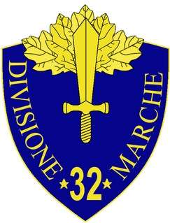 32nd Infantry Division Marche