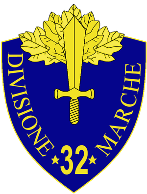 32nd Infantry Division Marche - 32nd Infantry Division Marche Insignia