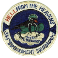 344th Bombardment Squadron - SAC - Emblem
