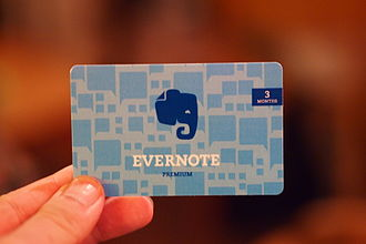 Evernote - Evernote Premium gift card.