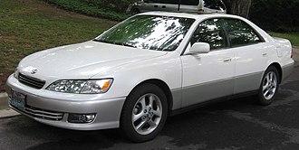 Lexus ES - MY2000–2001 Lexus ES 300 (MCV20; US)