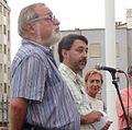 4. Juan Luis Calbarro con Rosa Díez y Fernando Savater Palma septiembre 2008.JPG