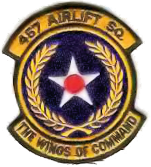 457th Airlift Squadron - Emblem of the 457th Airlift Squadron