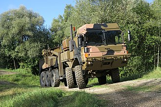 RMMV HX range of tactical trucks - Configured as a recovery vehicle for Australia, one of the first production HX45M.