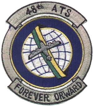 48th Air Transport Squadron - Image: 48th Air Transport Squadron MATS Emblem