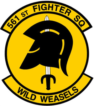 561st Fighter Squadron - Emblem of the 561st Fighter Squadron