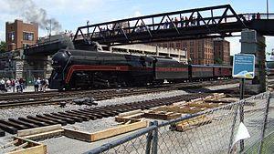 Roanoke station (Virginia) - Image: 611 at Roanoke