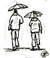 7- Sascha Grosser - Paar im Regen Zeichnung.jpg