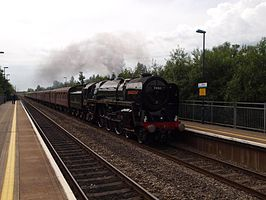 70013 Oliver Cromwell at Baglan railway station in 2009.jpg