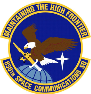 850th Space Communications Squadron - Image: 850th Space Communications Squadron
