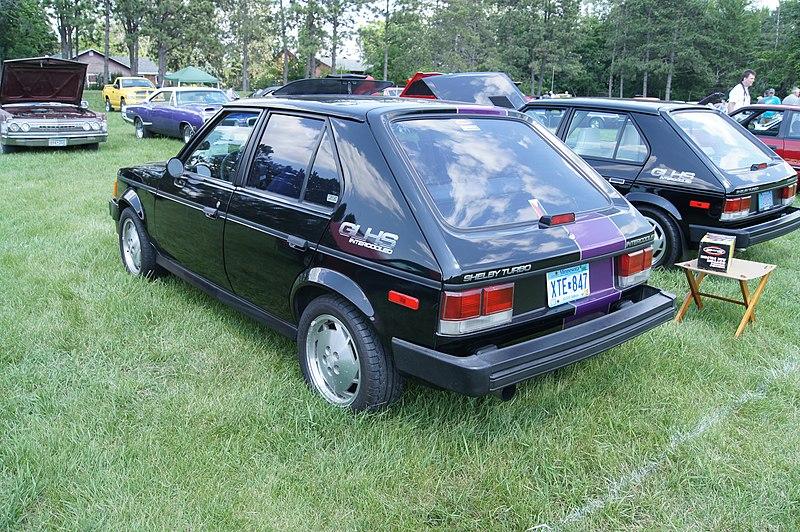 File:86 Dodge Omni GLH-S Shelby (7332605856).jpg