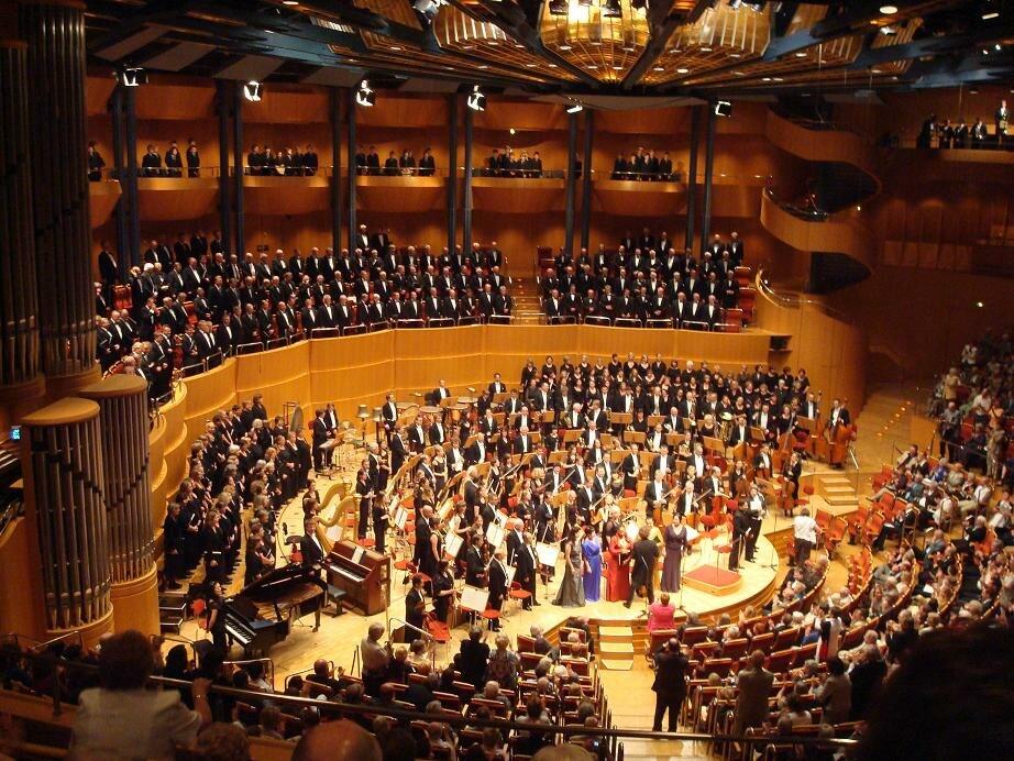 8th symphony of Mahler, K%C3%B6lner Philharmonie, 27-6-2009