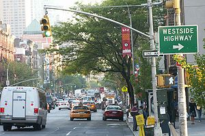 Ninth Avenue (Manhattan) - Ninth Avenue in Hell's Kitchen