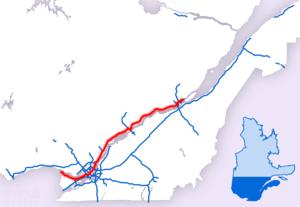 Quebec Autoroute 40 - Image: A 40