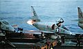 A-4C of VA-22 starts engine on USS Coral Sea (CVA-43) c1966.jpg