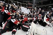 d0aea2eb7 Senators after winning the 2011 Calder Cup