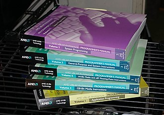 X86-64 - The five-volume set of the x86-64 Architecture Programmer's Guide, as published and distributed by AMD in 2002