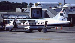 Air Saint-Pierre - ATR 42 at Halifax Robert L. Stanfield International Airport