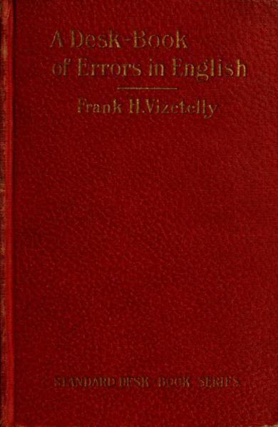 File:A Desk-Book of Errors in English.djvu