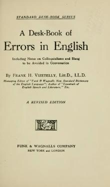 A Desk-Book of Errors in English.djvu
