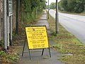 A Police Appeal for Information Concerning an Accident at the Same Junction - geograph.org.uk - 238290.jpg