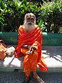 A Yoga instructor at Parmarth Niketan, Muni Ki Reti, Rishikesh.jpg