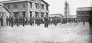 Fort Dix - First day at Camp Dix for World War I recruits