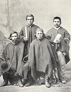 Mapuche Ethnic group in South America