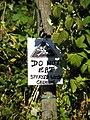 A field on a fruit farm - Do Not Eat - geograph.org.uk - 548681.jpg