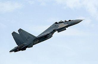 Langkawi International Maritime and Aerospace Exhibition - Royal Malaysian Air Force Su-30MKM at LIMA 2013