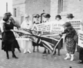 A group of women on the sidewalk, June 3, 1920.png