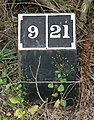 A mile marker along the Ashby Canal - geograph.org.uk - 928892.jpg