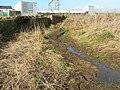 A muddy stretch of the coastal footpath near Nash Point - geograph.org.uk - 1157909.jpg
