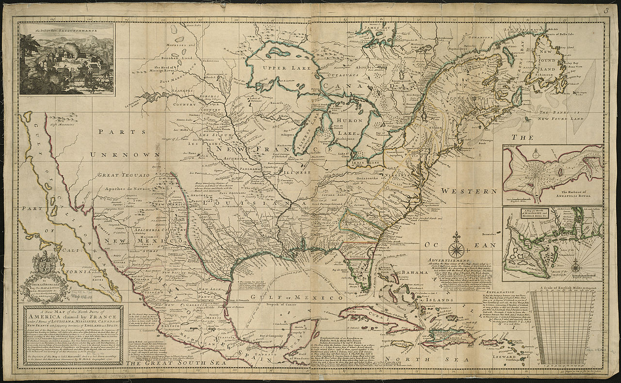 file a new map of the north parts of america claimed by