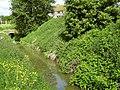 A rhyne at Pomparles Bridge, Glastonbury - geograph.org.uk - 1322255.jpg