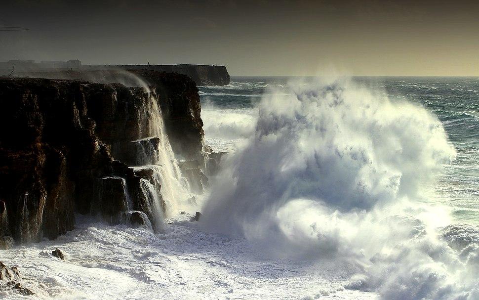A tormenta de Sagres