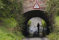 A tunnel under the Leeds Liverpool Canal - Geograph 2485180.jpg