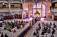 A view of the Sikhism Gurdwara Sri Guru Singh Sabha, Southall London United Kingdom.jpg