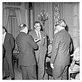 Abdel Nasser holds a dinner for Ali Yavar Jung, the Indian Ambassador, in Cairo (02).jpg