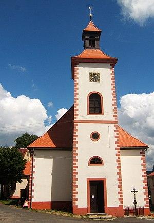Abertamy - Image: Abertamy church out